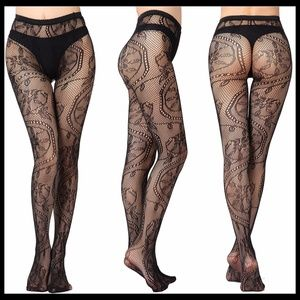 ❤️NEW Sexy Floral Fishnet Stockings #S3029